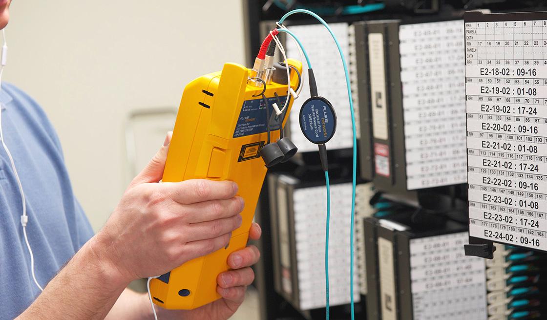 Multímetros ópticos Aplicación del centro de pruebas