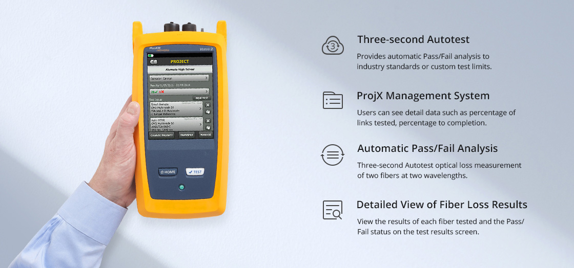 Optical Multimeter CertiFiber®Pro High Efficiency Optical Multimeter