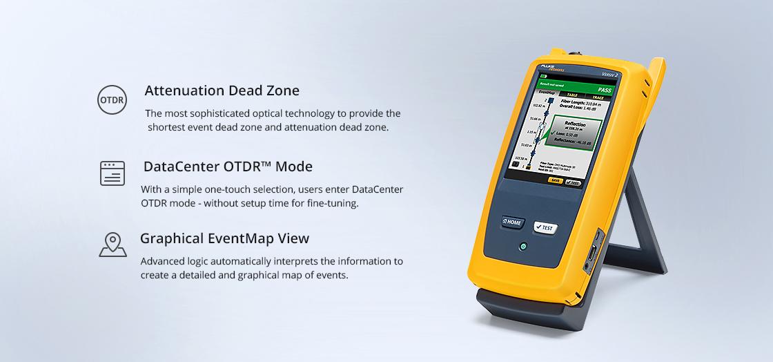 OTDR de fibra óptica OTDR avanzado OptiFiber® Pro OFP2-100-Q
