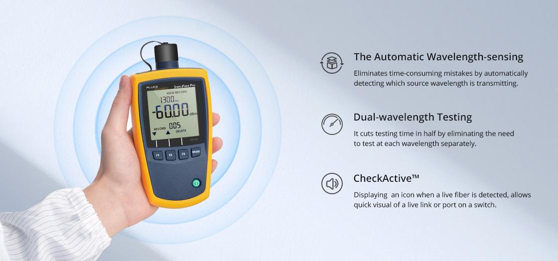 Optical Power Metre Make Testing and Reporting Simple