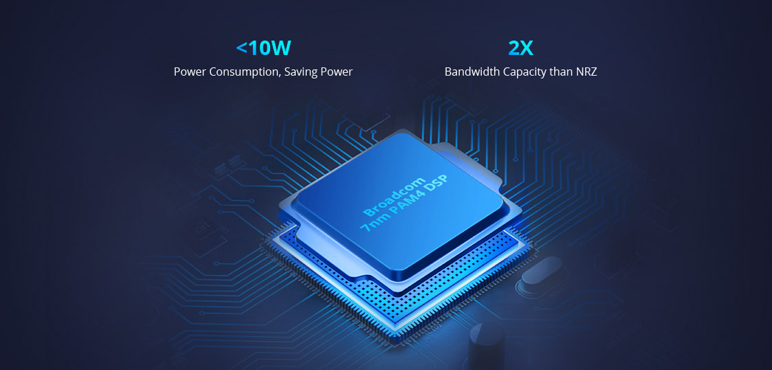 Cisco Powered by Broadcom's 7nm PAM4 DSP Chip