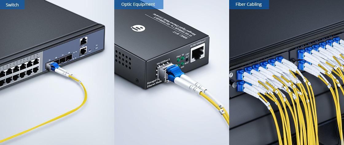 OS2 9/125 Single Mode Duplex Wide Application