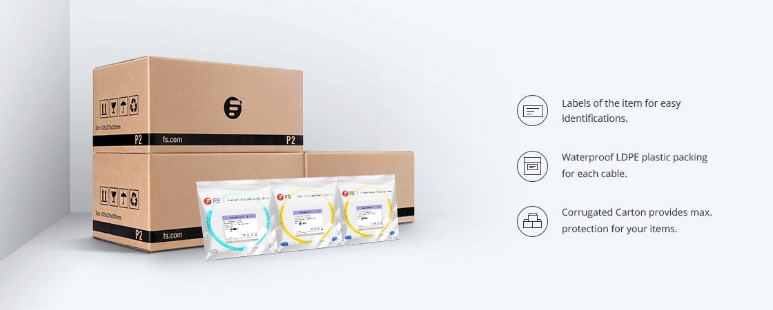 Ultra Low Loss LC Cables Eco-friendly Packaging & Clear Labeling