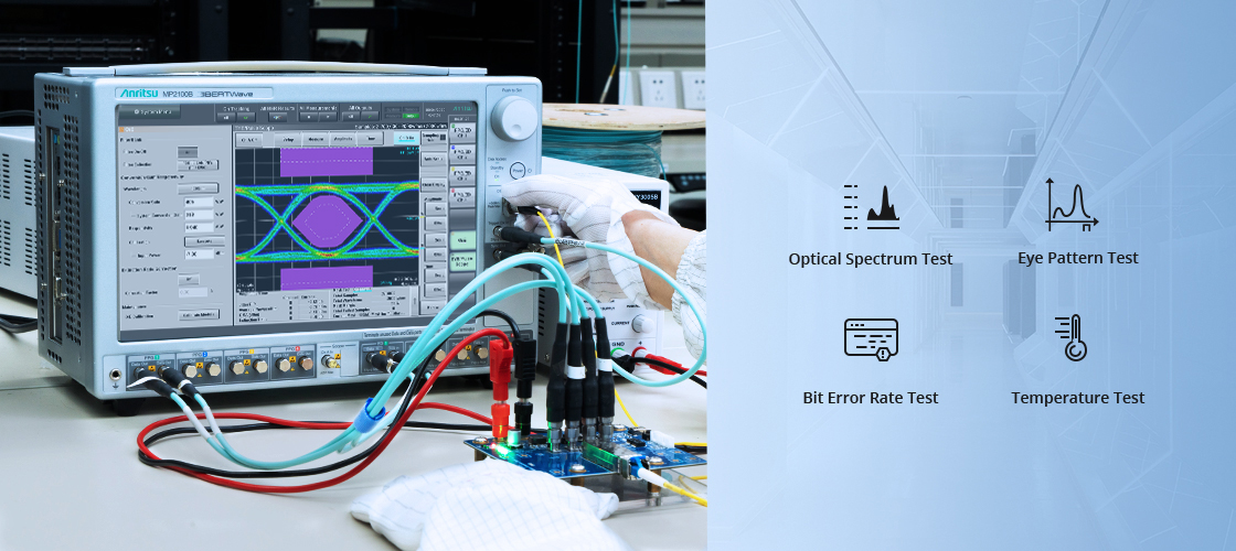 Extreme Comprehensive Performance Test with the Advanced Equipment