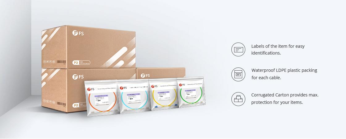 OS2 9/125 Monomode Simplex Emballage Écologique et Étiquetage Clair