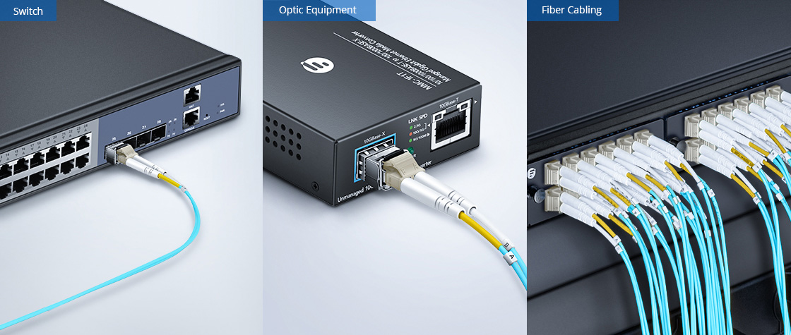 OM4 40/100Gb 50/125 Multimode Application Large