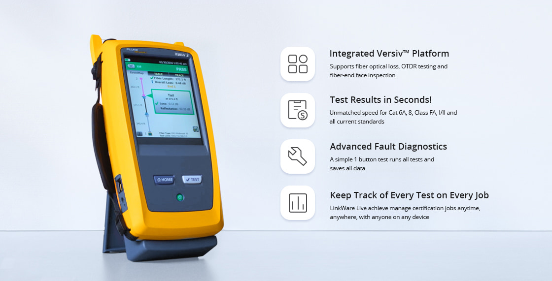 Network Cable Testers Accelerates Every Step of the Copper Certification Process