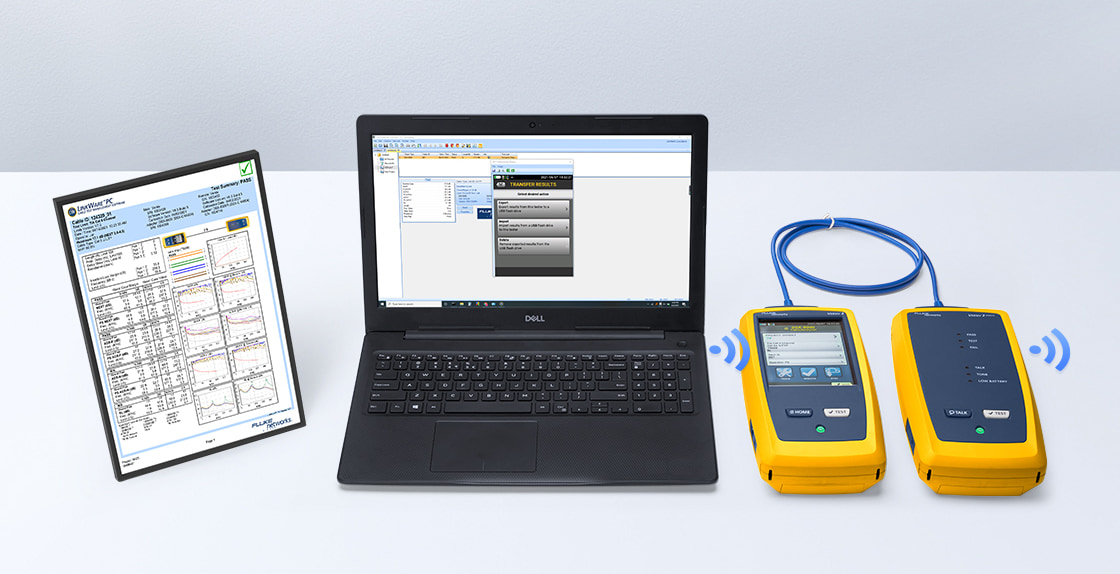 Network Cable Testers LinkWare™ PC Cable Test Management Software