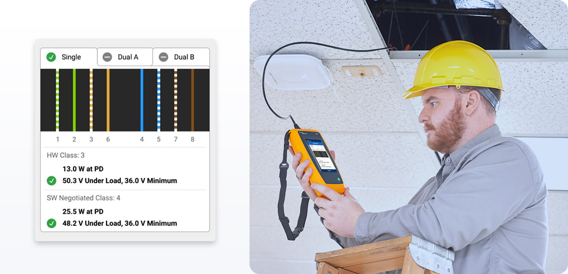 Network Cable Testers Power Over Ethernet