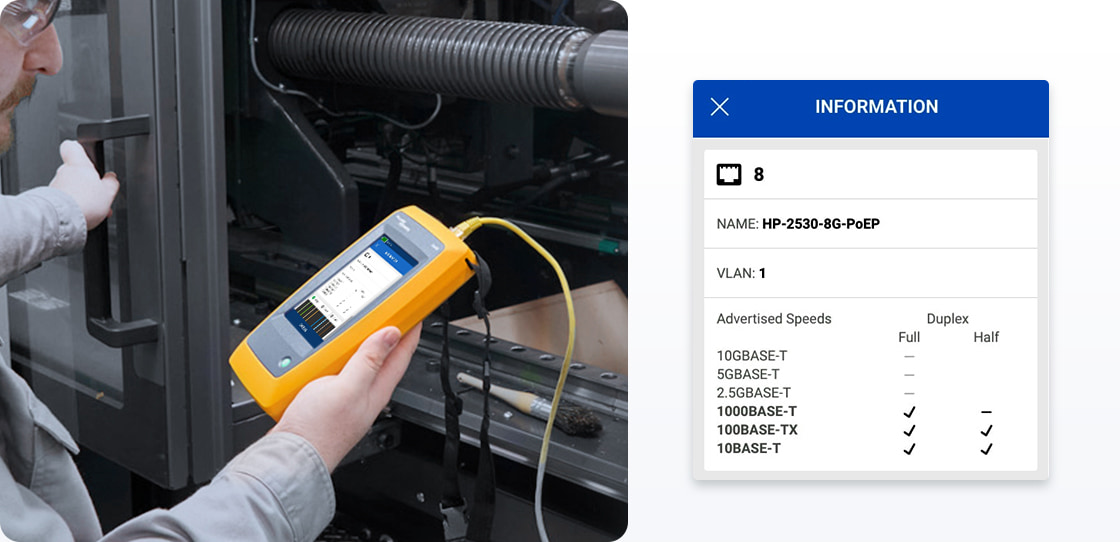 Network Cable Testers Network Testing