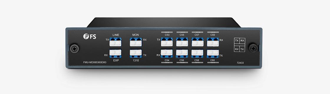 DWDM Mux Demux Mux/Demux 8 Channels over Dual Fiber
