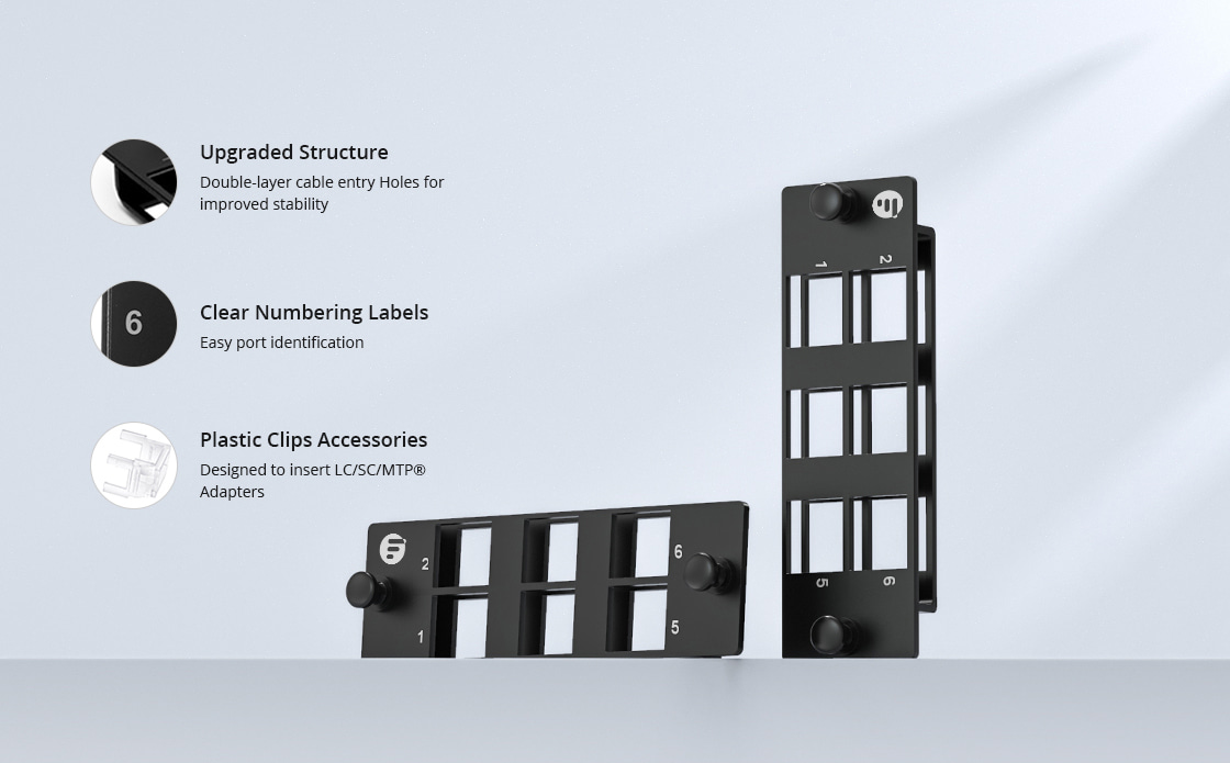 Fibre Optic Panels Modular Design to Simplify Your Cabling System