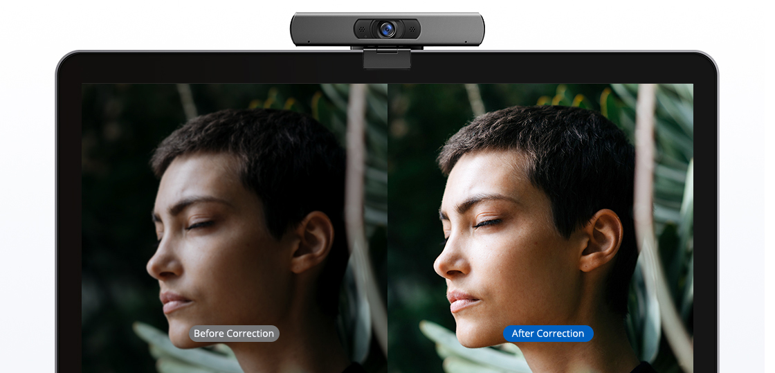 Conference Cameras Smart Low-light Correction Technology