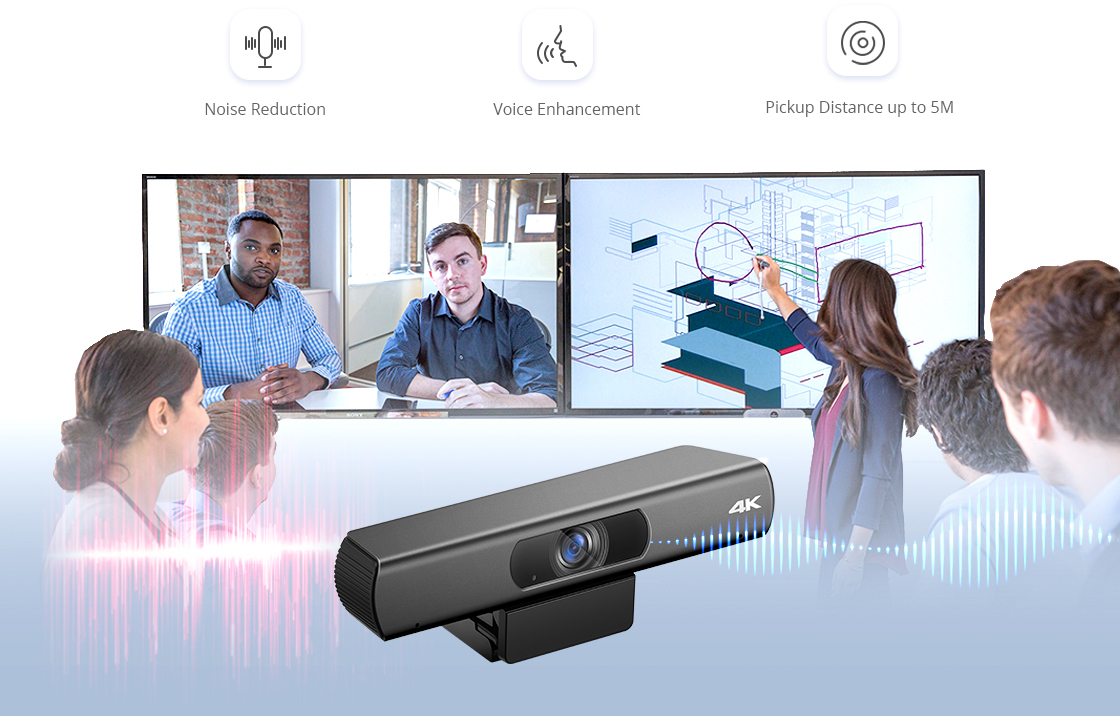 Cámaras para videoconferencia Ofrece una calidad de audio excepcional