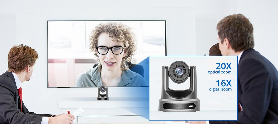 Konferenzkamera PTZ-Kamera mit 20-fachem verlustfreiem HD-Zoom