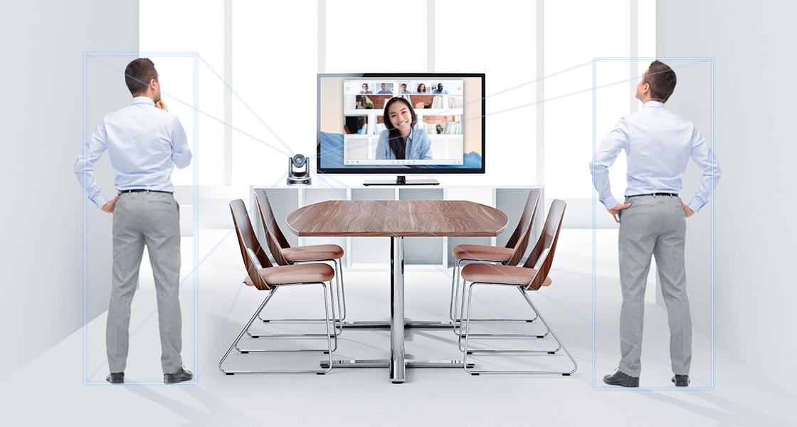 Konferenzkamera KI-Tracking hilft Ihnen, fokussiert zu bleiben