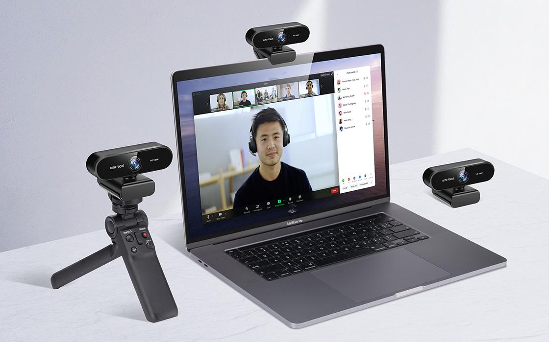 Webcam Plug-and-Play USB-Anschluss und mehrere Installationsmethoden