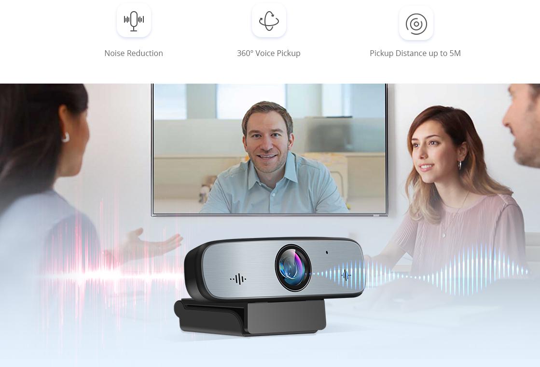 Webcam Hochwertige Audioleistung