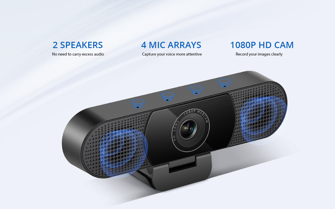 Webcams Compact All-In-One Design
