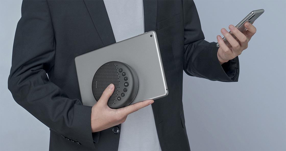 Micrófono para videoconferencia Celebra una reunión en cualquier lugar que desees