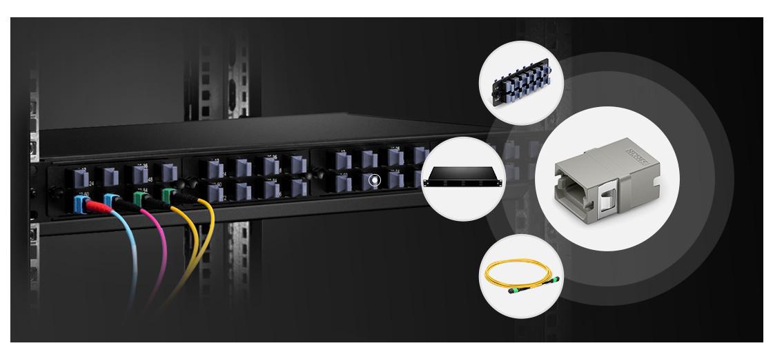 Fibre Adapters/Couplers Adapters Bridge the Gap Between Fiber Optic Connectors