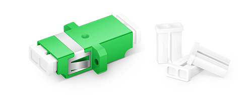 Fibre Adapters/Couplers Good Protection with Dust Cap