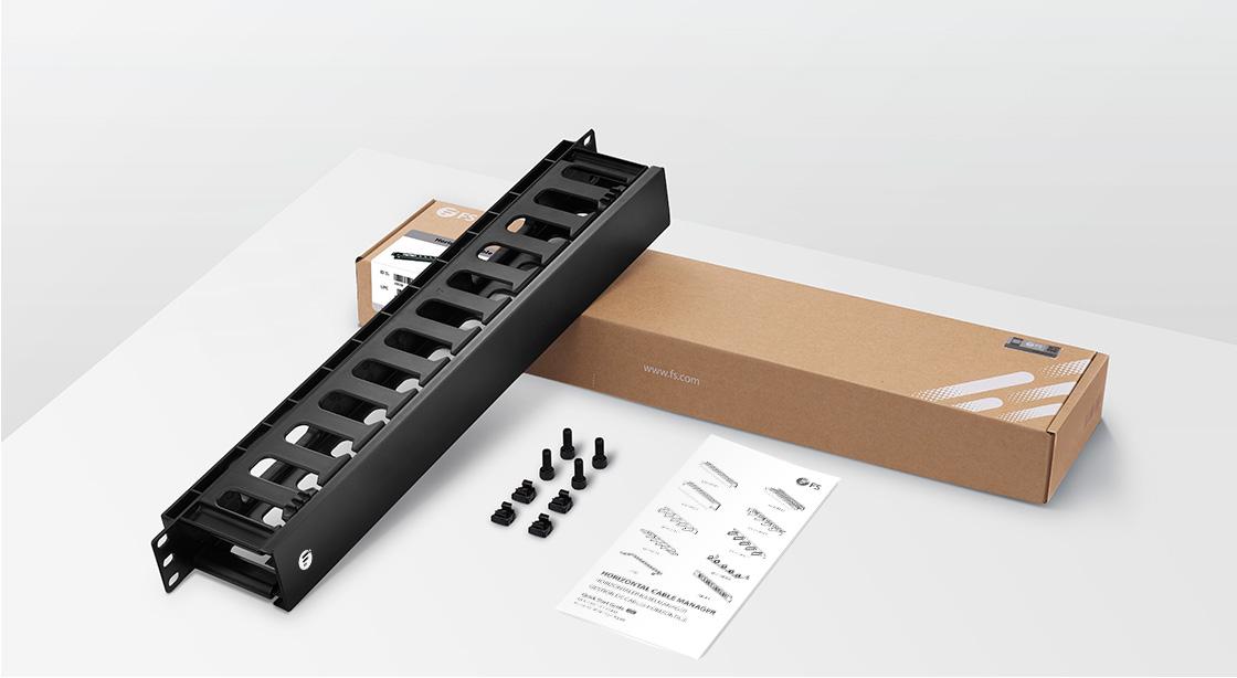 Panneau Passe-Câbles Horizontal Matériel de Montage Requis Inclus pour une Installation Rapide