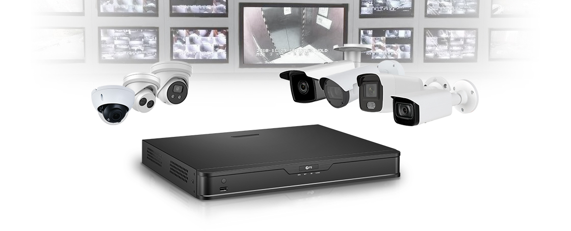 Network Video Recorders (NVRs) Support a Full Range of IP Cameras