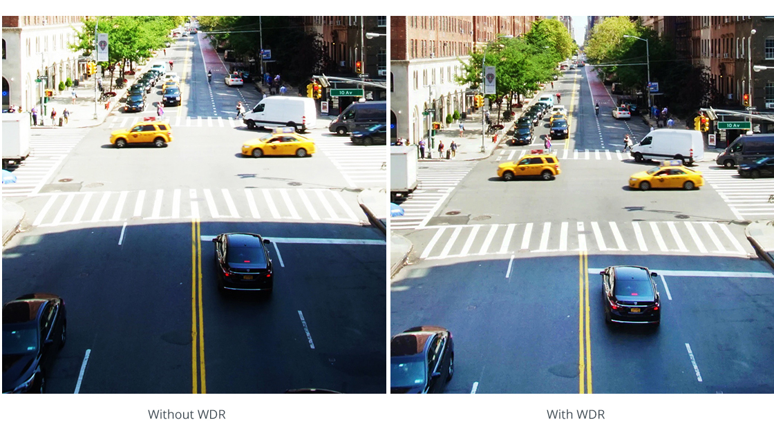 Network Cameras True Wide Dynamic Range