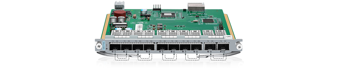 10G/25G/100G Transponder (OEO) Flexibility and Scalability for Fiber Optic Connectivity