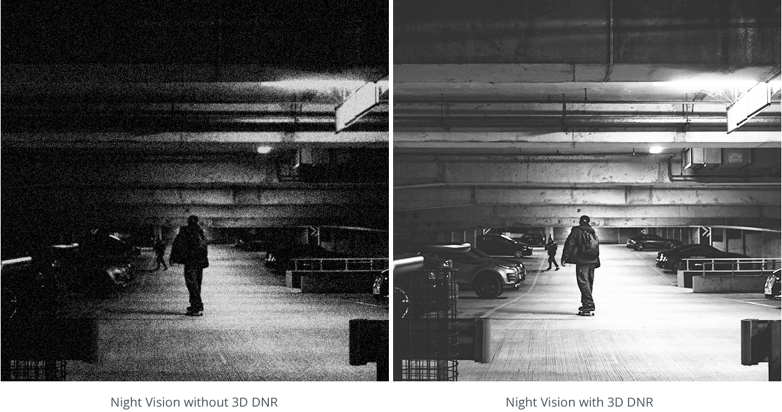 Network Cameras 24-Hour Continuous Monitoring with Night Vision