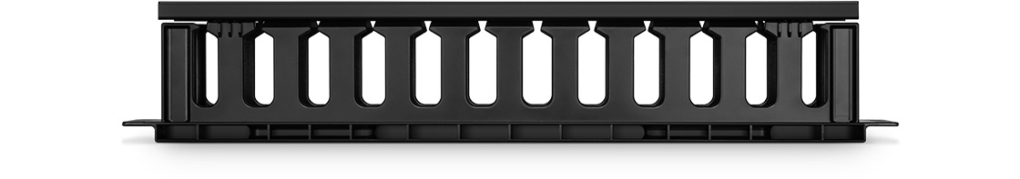 Panneau Passe-Câbles Horizontal Acheminez les Câbles dans le Gestionnaire de Câbles sans les Endommager