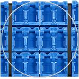 Fibre Optic Panels <br>Internal Shuttered Adapter