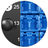 Fibre Optic Panels <br>Clear Numbering