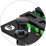 Fiber Optic Panels <br>Push-lock Rivets
