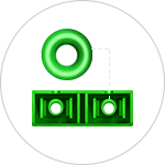 Fiber Optic Panels <br>Zirconia Ceramic Sleeves