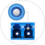 MTP®/MPO Fibre Cassettes <br>Zirconia Ceramic Sleeves