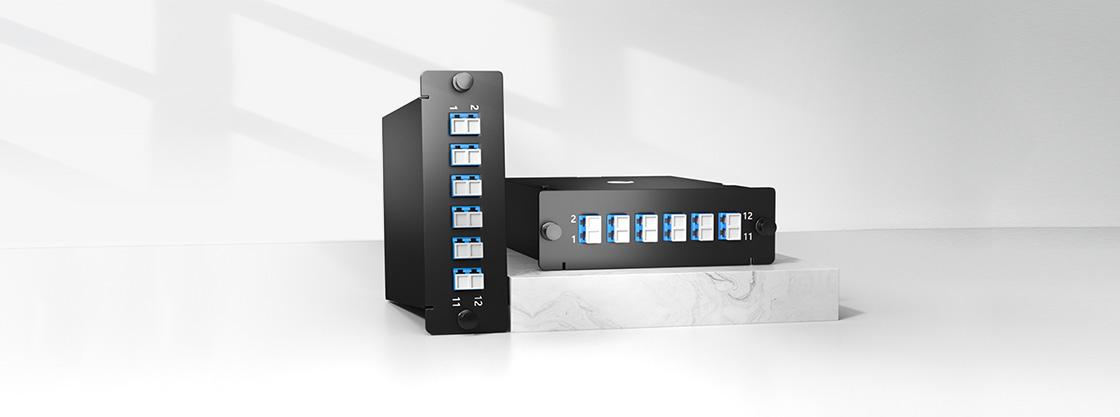MTP®/MPO Fibre Cassettes Functional Design for Rapid Deployment