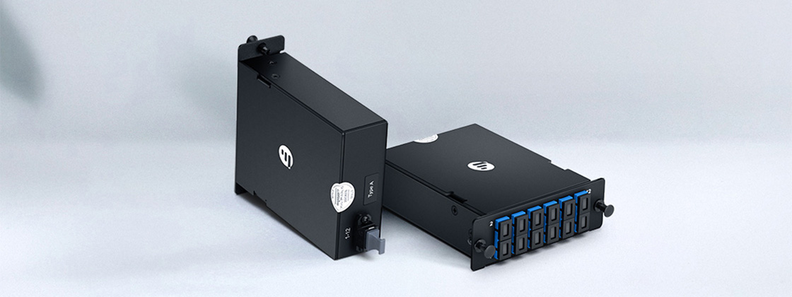 MTP®/MPO Fibre Cassettes Small Form Factor for Maximum Density