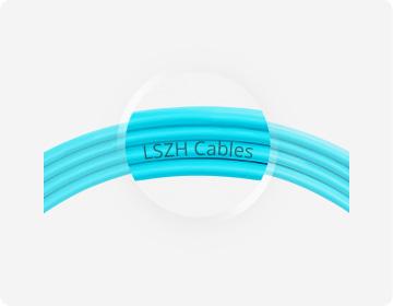 Customised Fibre Cables <br>LSZH Jacket