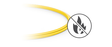 MTP®/MPO-LC Breakout Cables <br>Plenum (OFNP) Rated Outer Jacket