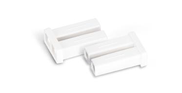 Fiber Adapters/Couplers <br>One-piece Design Dust Cap