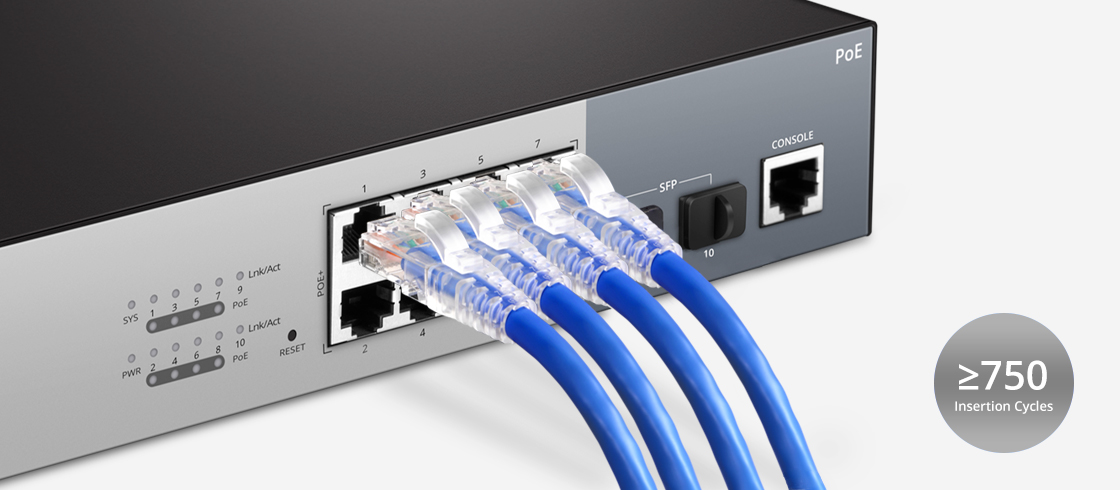 Cat6 Patch Cables Triple Protection of Patch Cables