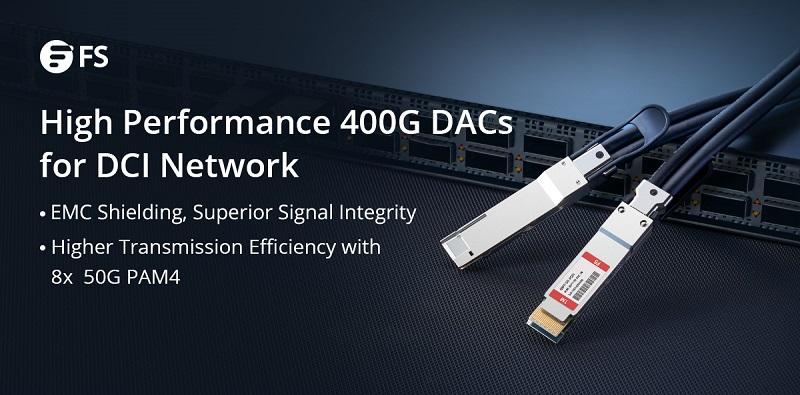 Câbles DAC 400G