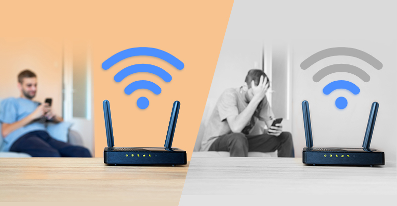 Good vs Bad Wi-Fi Connection