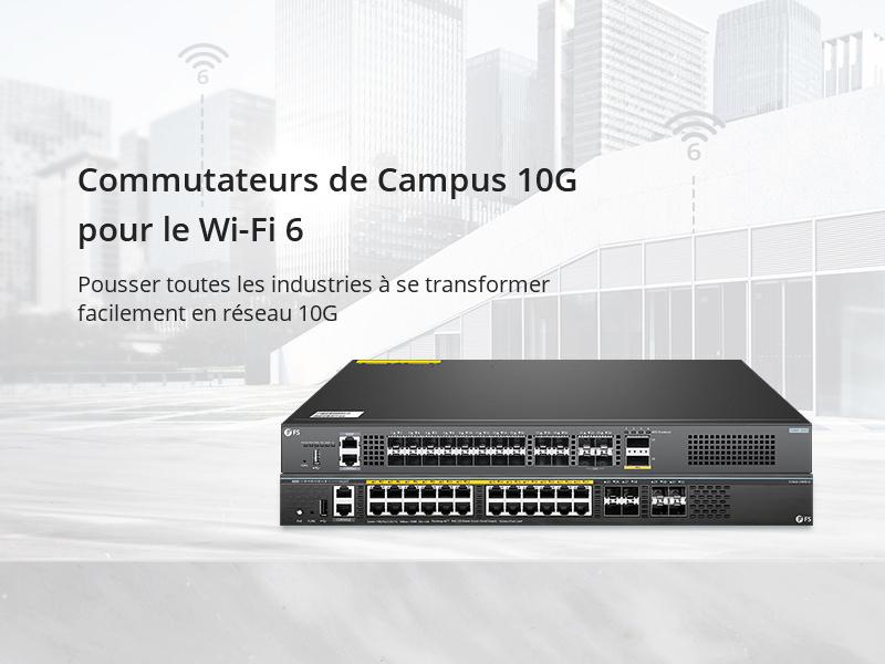 Lancement de commutateurs FS 10G