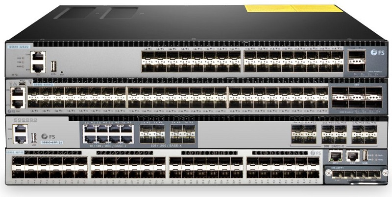 FS switches 10G