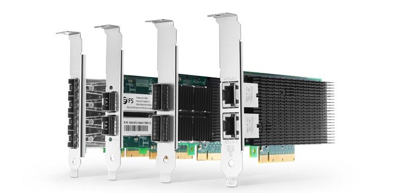 Figure 1: 10/25/40G PCIe NIC cards