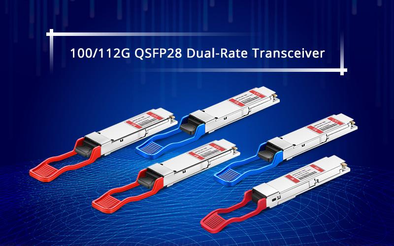 100-112G QSFP28 Dual-Rate Transceiver.jpg