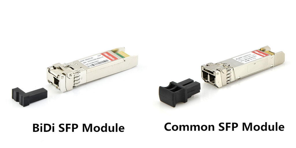 BiDi sfp transceiver vs common sfp transceiver